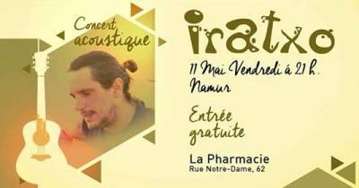 Iratxo Live Vendredi 11 mai 2018 @La Pharmacie Namur
