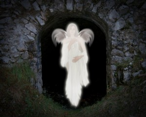 There are several indications that Mark has constructed Mark 16.1-8 (the narrative of the women finding the empty tomb) from a vision report