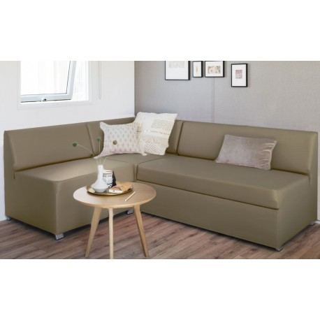 canape modulable taupe gris fonce