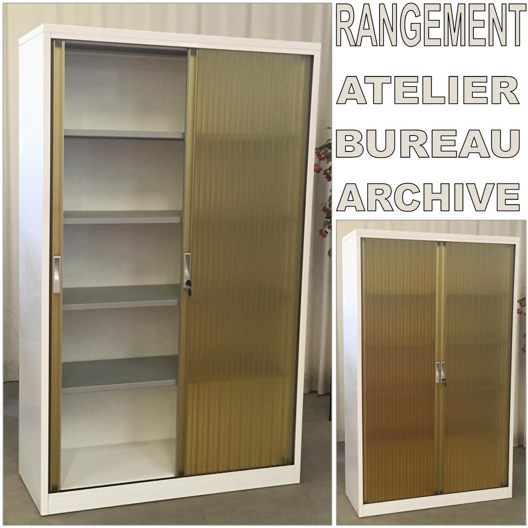 armoire de rangement bureau occasion