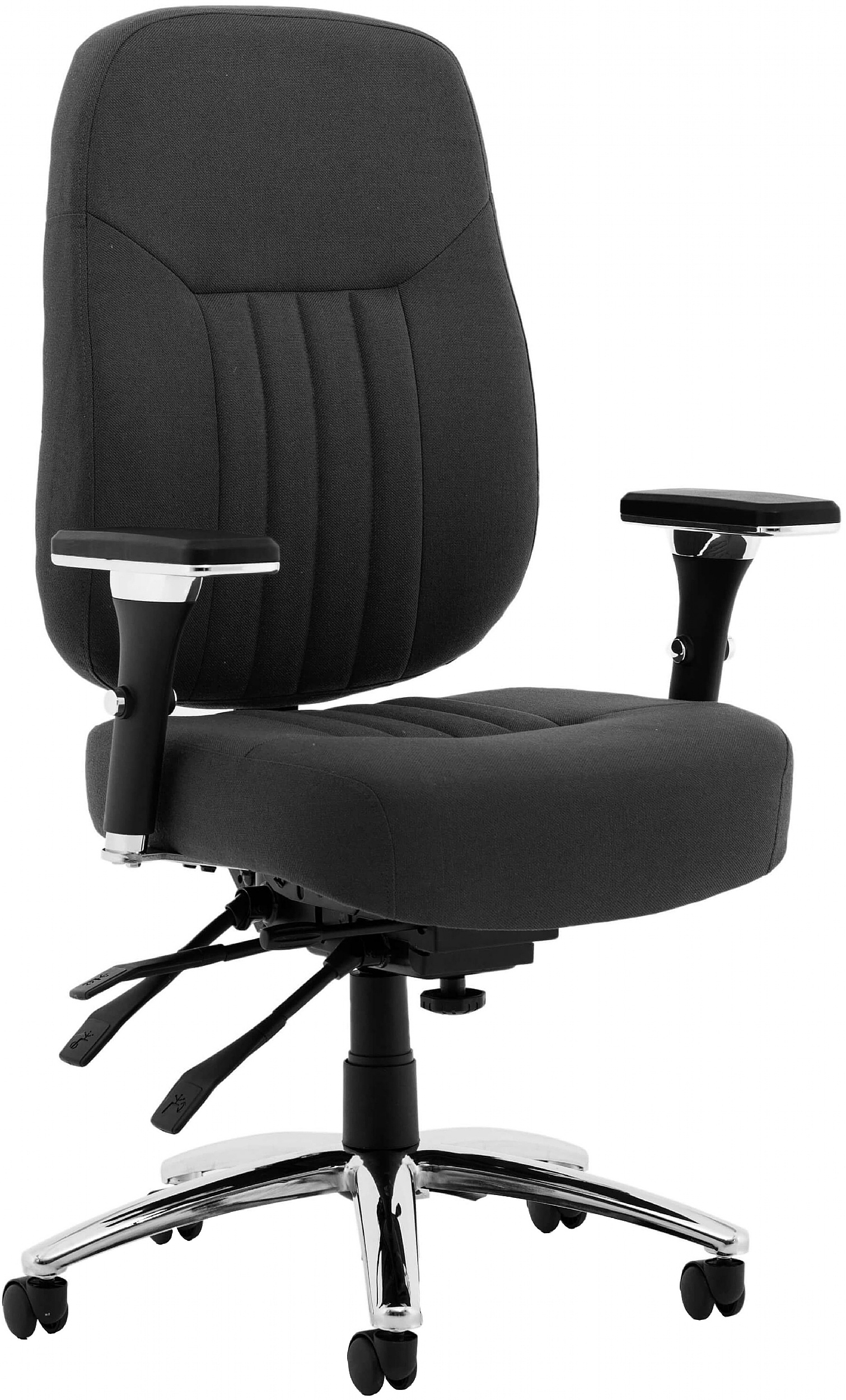 Katmai Deluxe Fabric Office Chair Executive Office Chairs