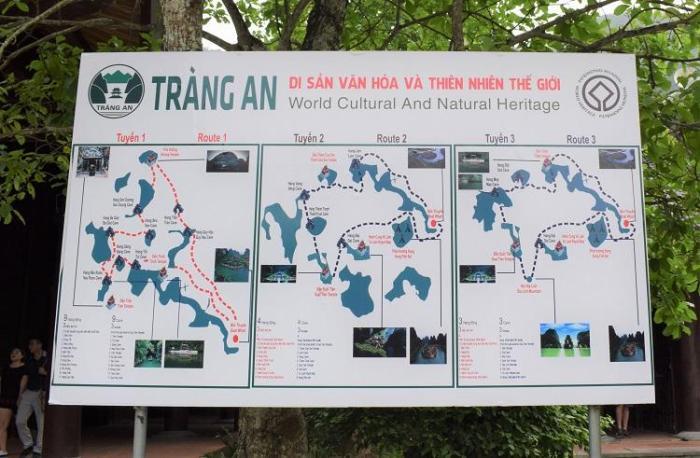 Las tres rutas de Trang Ang