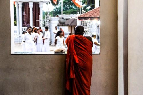 El budismo es la religión más practicada en Sri Lanka