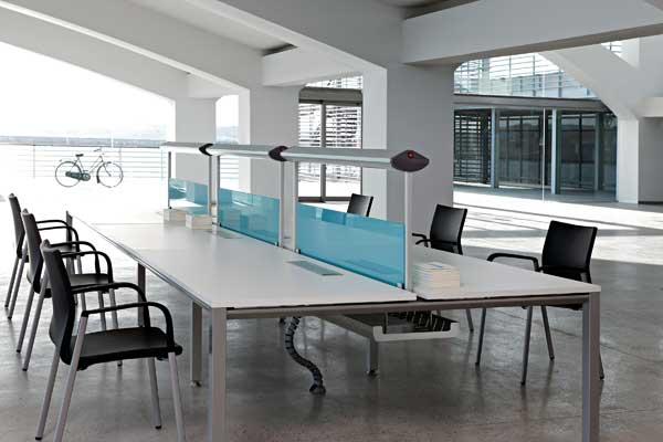 Mesas De Oficina Vital Lneas Rectas Y Sencillas Para La