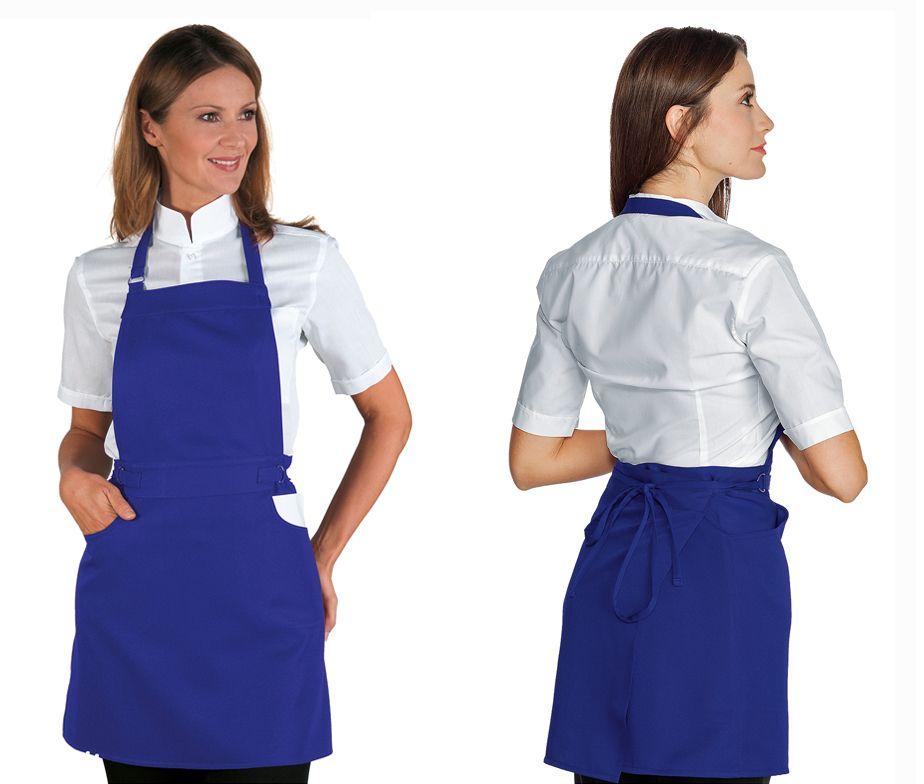 Delantal peto ajustable para camarera delantal camarera for Camareras de cocina