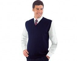 isacco-chaleco-unisex-azul-camarero-recepcionista