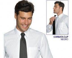isacco-corbata-clip-hombre-trabajo-camarero