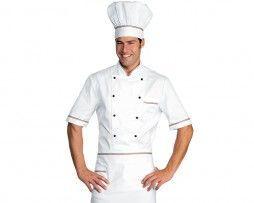 casaca-cocinero-blanco-tricolor-manga-corta-isacco
