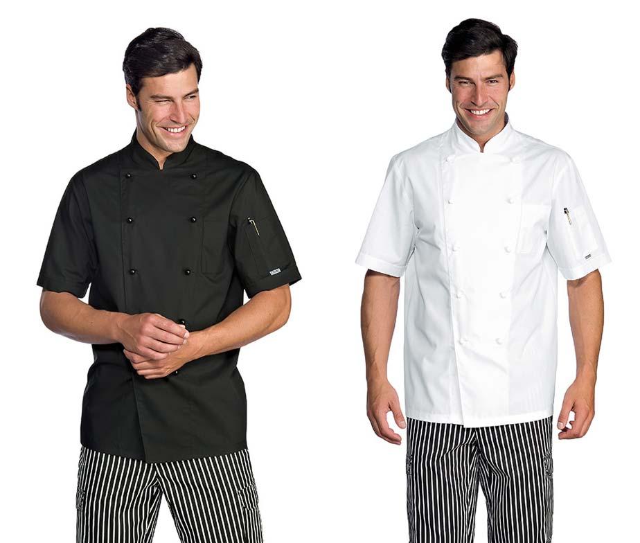 Chaqueta cocinero en manga corta chaqueta de cocina para chef for Chaquetas de cocina originales