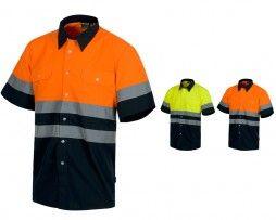 camisa-alta-visibilidad-workteam-c3811