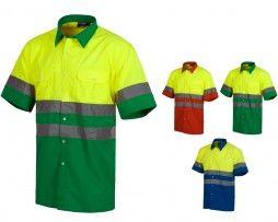 camisa-alta-visibilidad-workteam-c3812