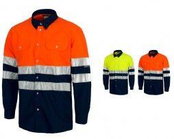camisa-alta-visibilidad-workteam-c3813