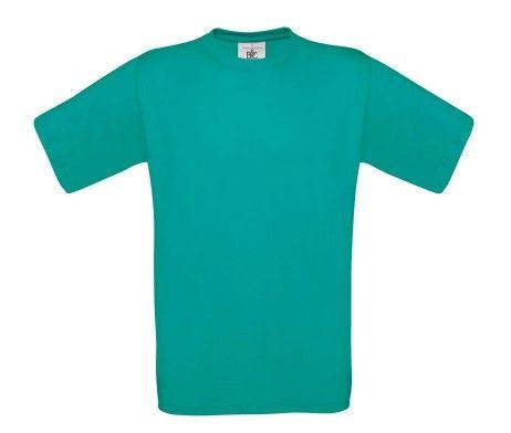 camiseta manga corta hombre turquesa