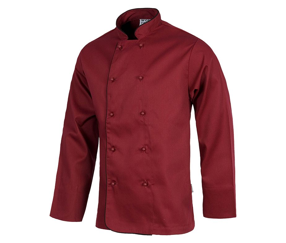 Chaqueta unisex cocina con botones de seguridad casaca for Chaquetas de cocina originales