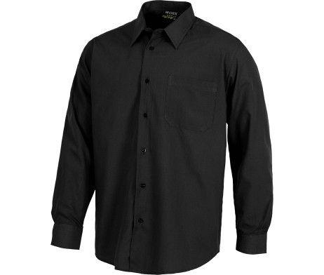 camisa de trabajo laboral color negro