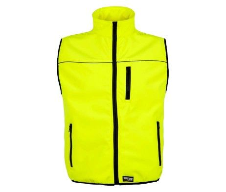 chaleco amarillo reflectante de trabajo