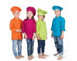 casaca cocinero infantil niños y niñas colores