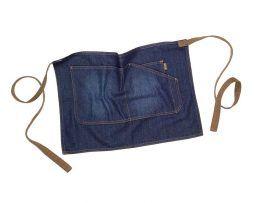 delantal corto tejido vaquero original y moderno