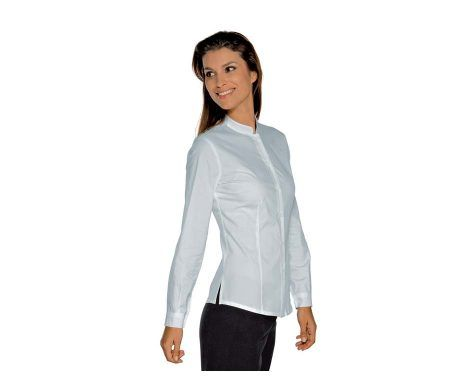 camisa camarera y recepcionista de hotel