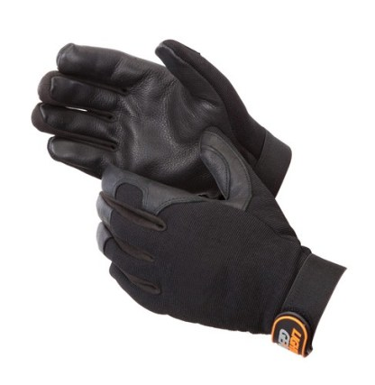 0918BK BlackKnight Mechanics Glove, Pair