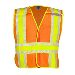 ML Kishigo 1167BA 4 Season Breakaway Orange Vest
