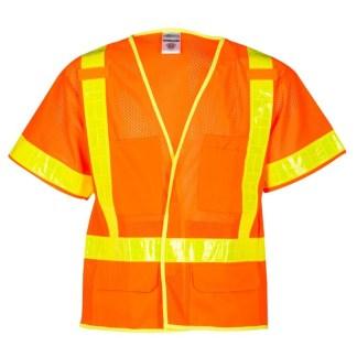 ML Kishigo 1202A ORALITE Mesh Orange Vest