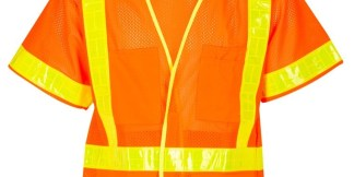 ML Kishigo 1202A ORALITE Mesh Orange Vest