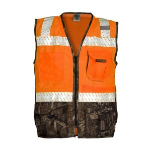 ML Kishigo 1524 Premium Brilliant Series Heavy Duty Orange Vest