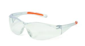 INOX 1715RTN/C/AF F-III Clears Lens (anti-fog) With Clear/Orange Frame