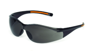 INOX 1715RTN/G F-III Gray Lens With Black/Orange Frame