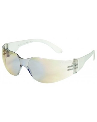 INOX F-I 1715BM/C Blue Mirror on Clear Lens W/ Clear Frame