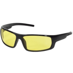 INOX 1724A Enforcer Amber Lens With Black Frame