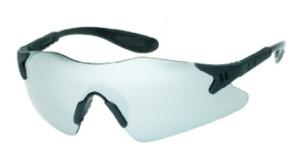 INOX 1738SM Dasher Silver Mirror Lens Black Frame