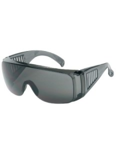 Armour 1750G Grey Lens Visitor Safety Glasses