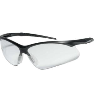INOX 1757C/AF Roadster II Clear Lens (anti-fog) with Black Frame
