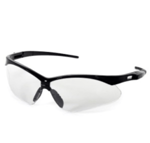 INOX 1767C/AF Roadster Clear Lens (anti-fog) with Black Frame