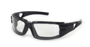 INOX 1772C/AF Trooper Clear Lens (anti-fog) with Black Frame