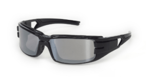 INOX 1772SM Trooper Silver Mirror Lens with Black Frame