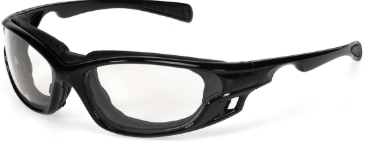 INOX 1773C/AF Gazer Clear Lens (anti-fog) with Black Frame