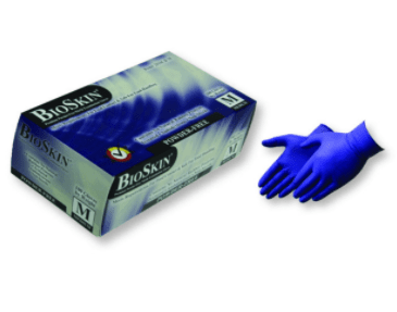 2010CB Examination Grade Royal Blue Nitrile Gloves - 5.5 mil (Powder Free)