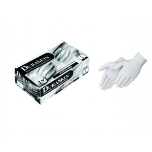 T2800W Disposable 4mil Powderd Latex Gloves, 100ct/box