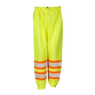 ML Kishigo 3117 Class E Lime Contrasting Mesh Pants