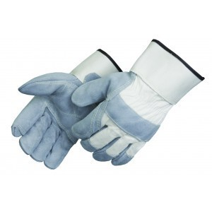 Liberty Gloves 3510 Kevlar Sewn Double Leather Palm Glove with  2 3/4 inch Safety Cuff, Dozen