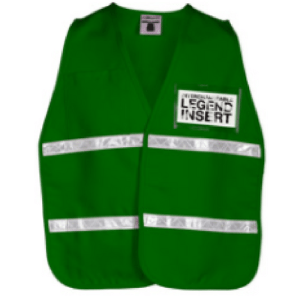 ML Kishigo 3705i Green Incident Command Vest