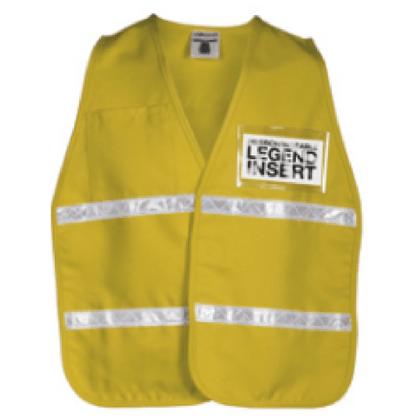 ML Kishigo 3706i Tan Incident Command Vest