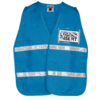 ML Kishigo 3709i Light Blue Incident Command Vest