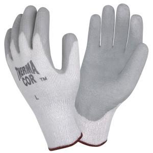 Cordova Glove Thema-Cor 3899 with Gray Coated Latex Palm, Dozen