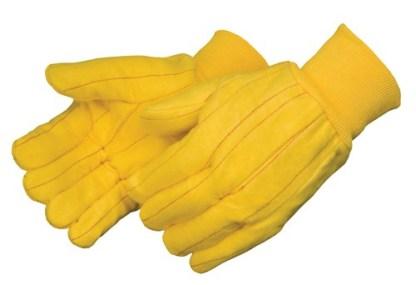 4203Q Medium Weight Golden Chore With Matching Knit Wrist, Dozen