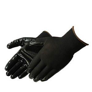 Liberty Gloves 4631Q/BK Q-Grip Ultra Thin Black Nitrile Coated Palm Glove