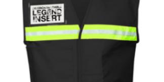 ML Kishigo 4702 Black Incident Command Vest